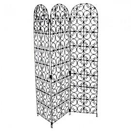 paravent fer forg meubleethnic. Black Bedroom Furniture Sets. Home Design Ideas
