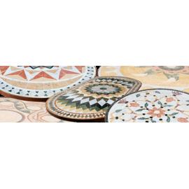 Table mosaïque marbre