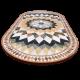Table marbre ovale 140/90 Florentine 6