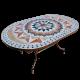 Table marbre ovale 140/90 Florentine 9