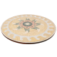 Table marbre ovale 140/90 Etoile couleur