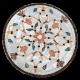 Table marbre ronde d.:110 Fleur 7