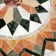 Table marbre ronde d.: 70 Florentine 9