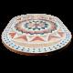 Table marbre ovale 200/100 Florentine 9
