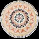Table mosaïque marbre ronde d.:150 Florentine 9