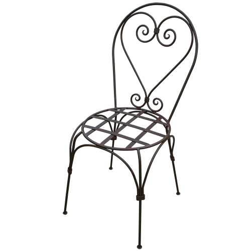 Chaise fer forgé Italienne