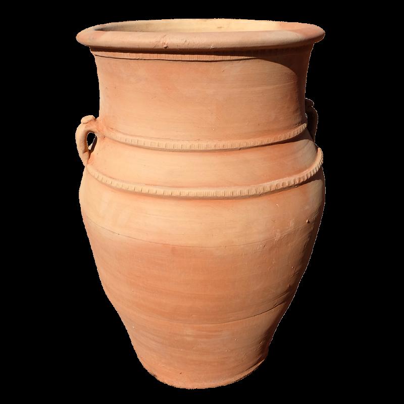 """Jarre terre cuite poterie """"Vésuve"""""""