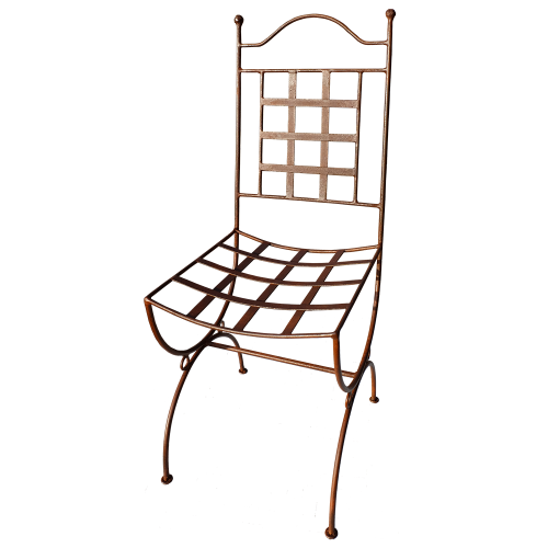 "Chaise fer forgé ""Provence"""