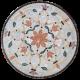 Table mosaïque marbre ronde d.: 70 Fleur 7