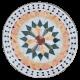 Table mosaïque marbre ronde d.: 70 Florentine 9