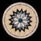 Table mosaïque marbre ronde d.: 70 Florentine 6