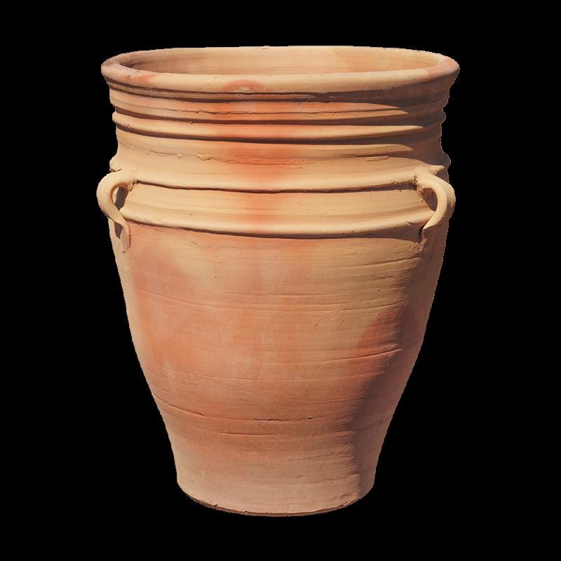 "Jarre terre cuite poterie rustique ""Malaga"" h.: 66 cm"