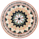 Table marbre ronde d.:130 Florentine 6