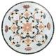 Table marbre ronde d.:130 Fleur7