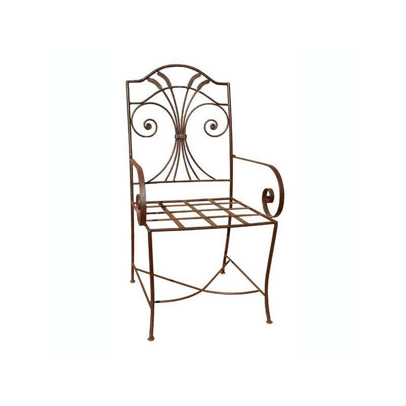 fauteuil garden en fer forg. Black Bedroom Furniture Sets. Home Design Ideas