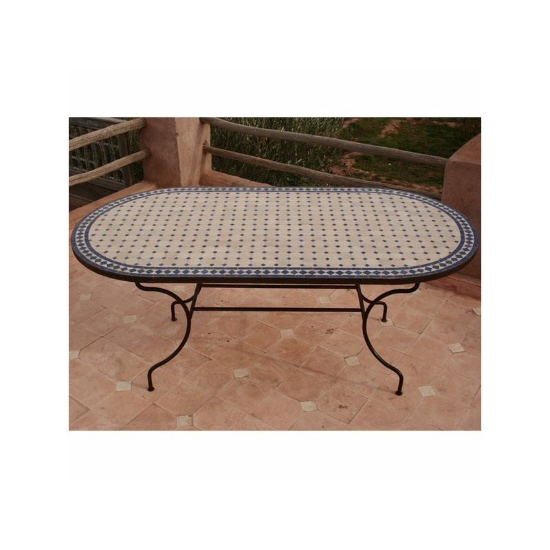 achat en ligne table mosaique zellige carrelage. Black Bedroom Furniture Sets. Home Design Ideas