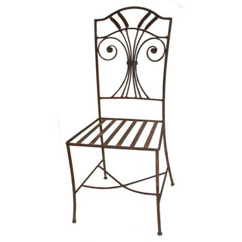 "Chaise fer forgé ""Garden"""