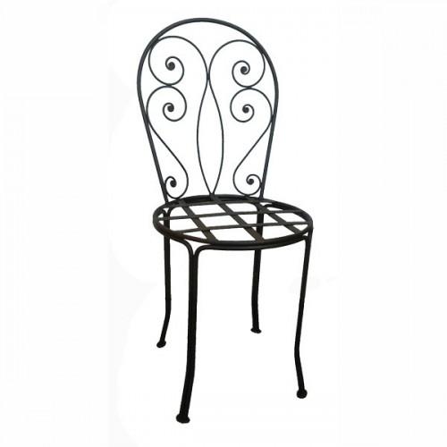 """Chaise fer forgé """"Romantique"""""""