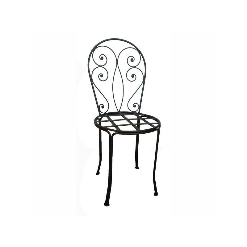 Chaise Romantique fer forgé